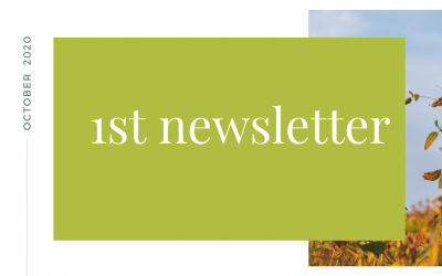 Our first newsletter is out!