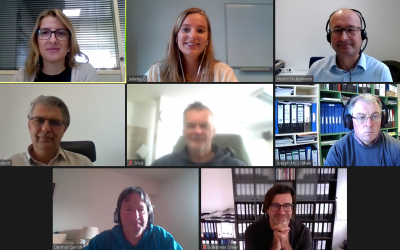Second project meeting. Online, 8 and 9 October 2020